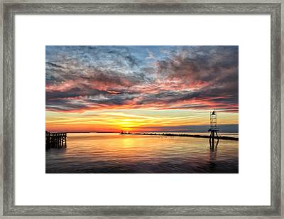 My Return To Cape Charles Virginia Framed Print by Michael Pickett