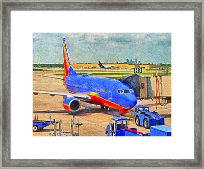 My Ride Home Framed Print