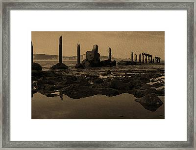 My Sea Of Ruins IIi Framed Print by Marco Oliveira