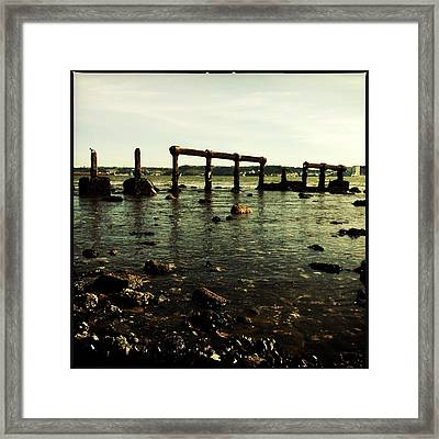 My Sea Of Ruins Framed Print by Marco Oliveira