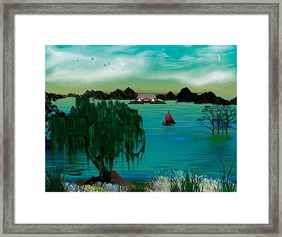My Secret Hideaway Framed Print