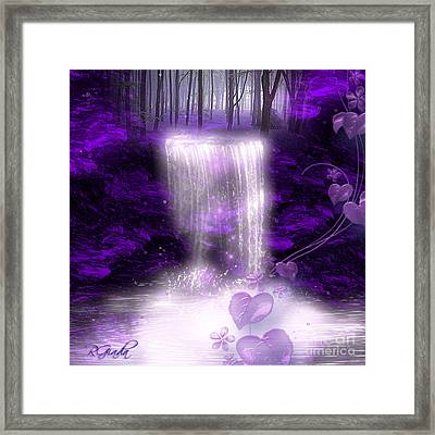 My Secret Place - Fantasy Art By Giada Rossi Framed Print