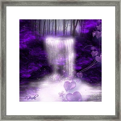 My Secret Place - Fantasy Art By Giada Rossi Framed Print by Giada Rossi