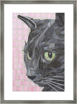 My Shadow Framed Print by Linda Pieroth Smith