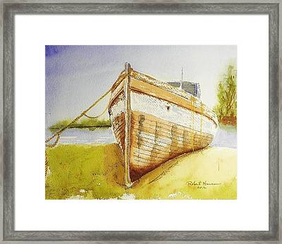 My Ship Came In Framed Print by Robert  ARTSYBOB Havens