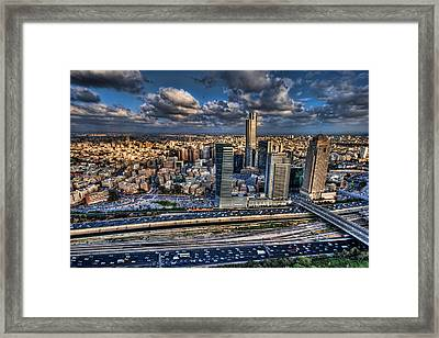 My Sim City Framed Print by Ron Shoshani