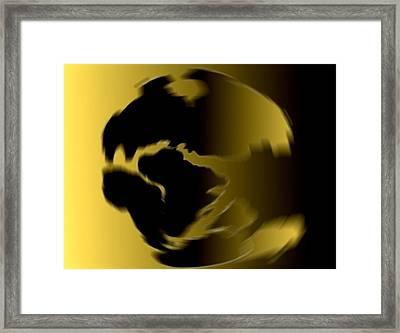 My Simple World - Pangaea Framed Print