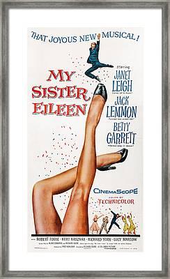 My Sister Eileen, Us Poster Art, 1955 Framed Print