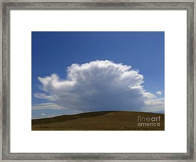 My Sky View - 2 Framed Print