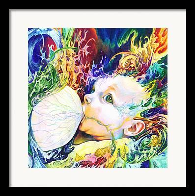 Visionary Artist Framed Prints