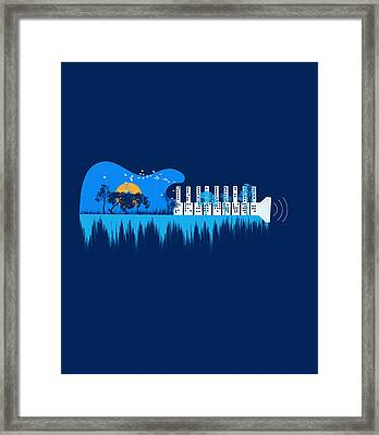 My Sound World Framed Print