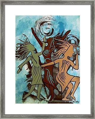 My Spirit Dances Framed Print