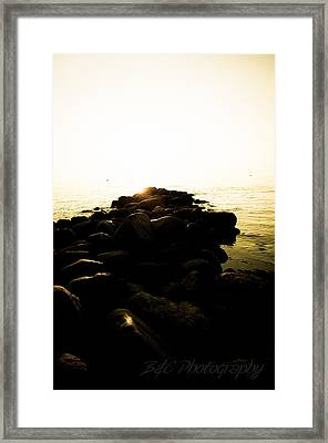 My Stepping Stones 2 Framed Print by BandC  Photography