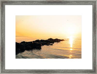 My Stepping Stones Framed Print by BandC  Photography