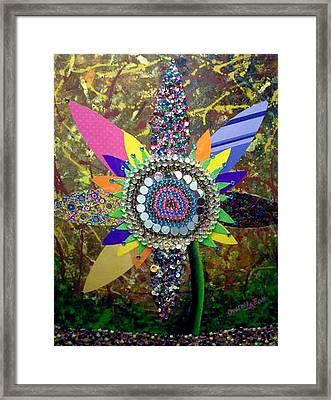 My Sunflower Framed Print