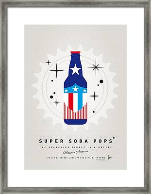 My Super Soda Pops No-14 Framed Print