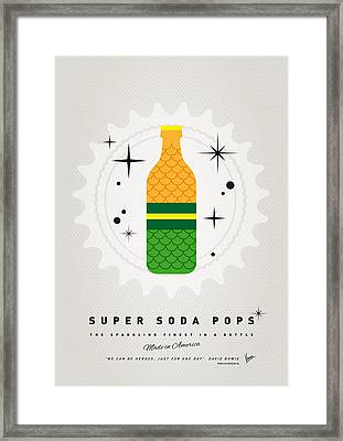 My Super Soda Pops No-19 Framed Print