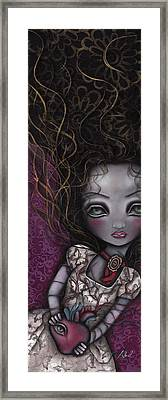 My Surrender Framed Print by  Abril Andrade Griffith