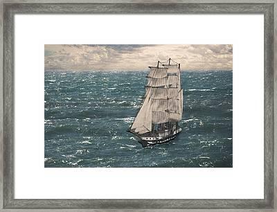 My Tall Ship Framed Print