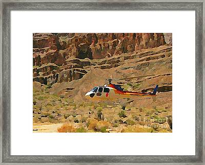 My Taxi To The Grand Canyon And Back Framed Print by John Malone