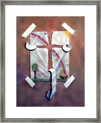 My Testimony Framed Print by Anthony Falbo