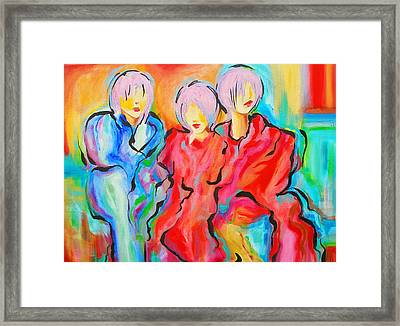 My Three Muses Framed Print by Susi Franco