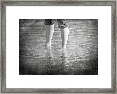 My Time Framed Print by Steven  Michael