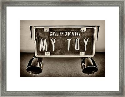 My Toy Framed Print by Martin Bergsma