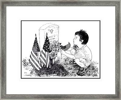 My Tribute Framed Print by Joseph Juvenal