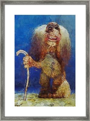 My Troll Framed Print