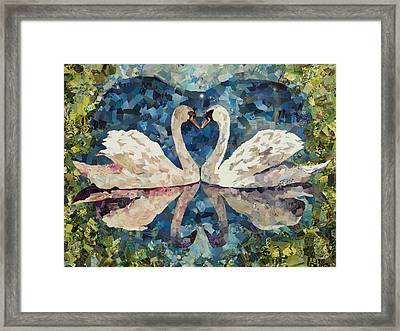 My True Love Hath My Heart Framed Print