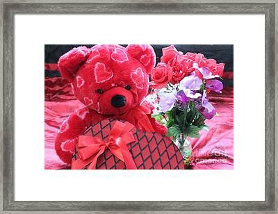 My Valentine Framed Print
