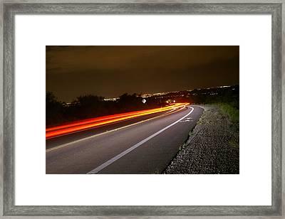 My Way Home Framed Print