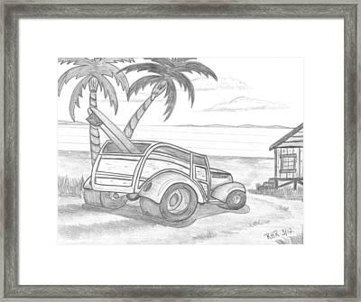 My Woody Framed Print