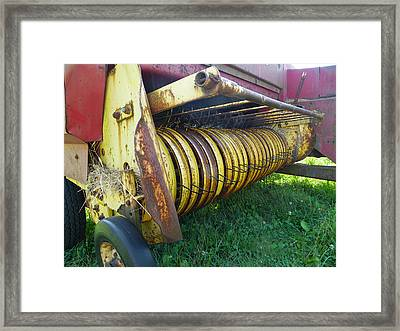 My Work Is Done Framed Print