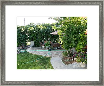 My Yard Love Framed Print by Jeff Pickett