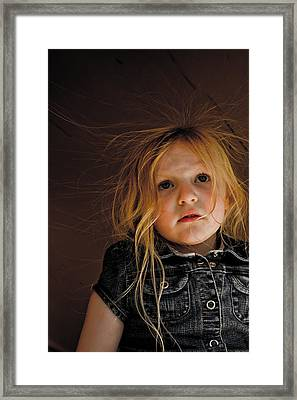 Myah Framed Print by Joel Loftus