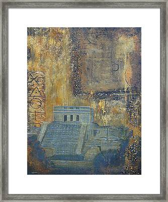 Myan Temple Framed Print by Jeffrey Oldham