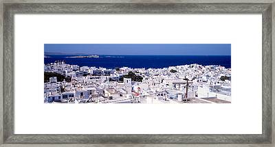 Mykonos, Greece Framed Print
