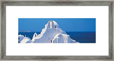 Mykonos Island Greece Framed Print