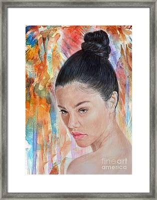 Myra Molloy Winner Of Thailand Got Talent II Framed Print