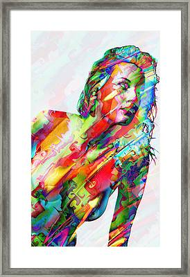 Myriad Of Colors Framed Print