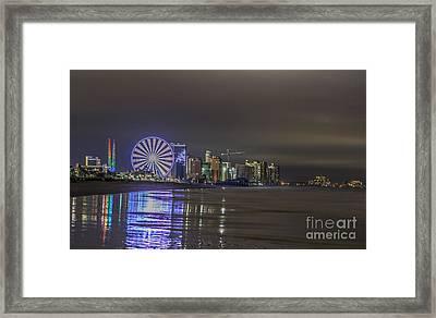 Myrtle Beach 2014 Framed Print