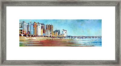 Myrtle Beach Morning Framed Print