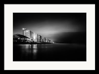 Beachfront Framed Prints