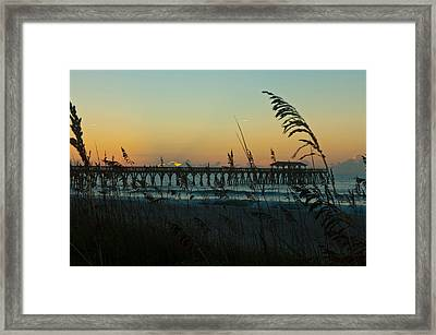Myrtle Beach Sunrise Framed Print