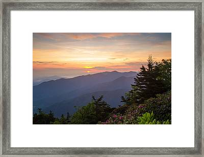 Myrtle Point - Mt Leconte Framed Print by Doug McPherson