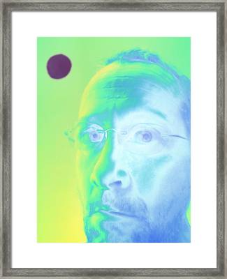 Myself Framed Print by Tom Druin