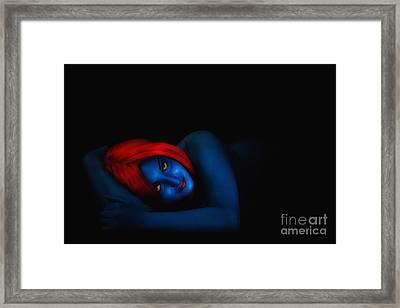 Mysitque Framed Print by Traven Milovich