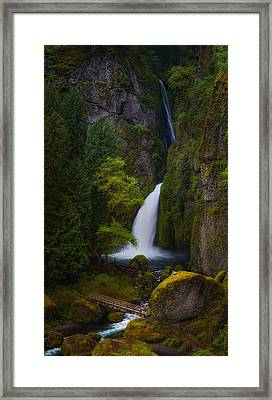 Mysteries Of Wahclella Framed Print